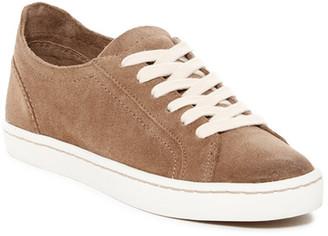 Dolce Vita Xahara Suede Low Top Sneaker $100 thestylecure.com