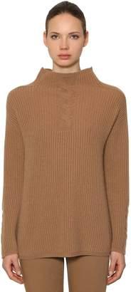 Max Mara 's Wool & Cashmere Rib Knit Sweater