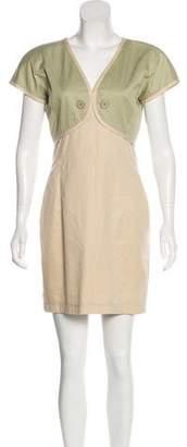 Valentino Short Sleeve Mini Dress