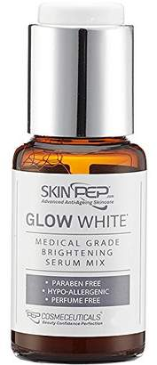 SkinPep Glow White 17ml - Medical Grade Brightening Serum Mix + Dark Spots + Age spots + Sun Damage + Hypo-Allergenic - SkinPep Best Choice For Premium Quality Serum