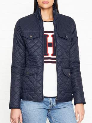 Barbour Formby Box Quilted Four Pocket Utility Jacket - Navy