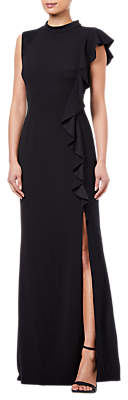 Adrianna Papell Knit Crepe Dress, Black