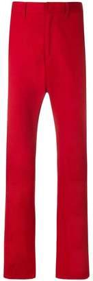 Prada classic straight leg trousers