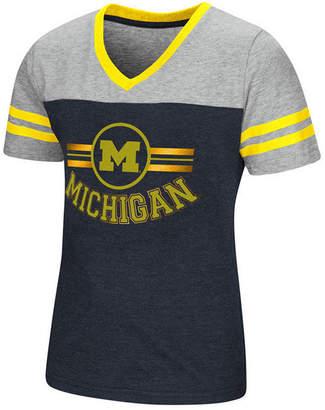 Colosseum Michigan Wolverines Pee Wee T-Shirt, Girls (4-16)
