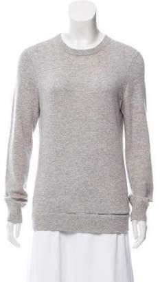 Michael Kors Zipper-Accented Cashmere Sweater