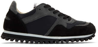 Spalwart Black Marathon Trail Sneakers