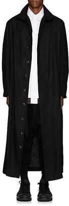 Yohji Yamamoto Men's Wool Long Coat