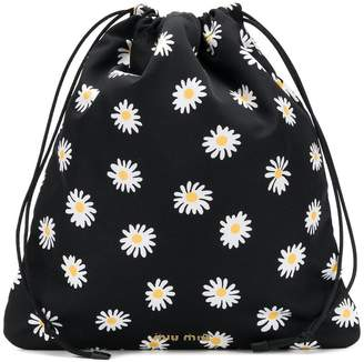 Miu Miu flower print pouch