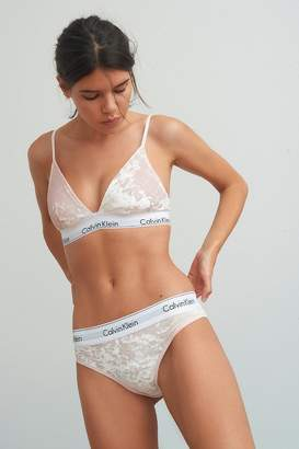 Calvin Klein Velvet Tanga
