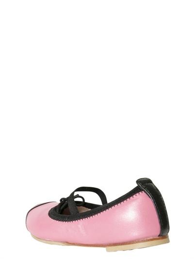 Bloch Bicolor Nappa Leather Ballerinas