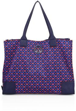 Tory Burch Ella Printed Packable Tote $225 thestylecure.com