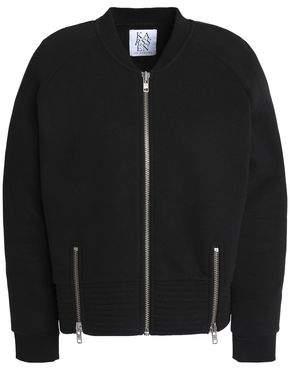 Zoe Karssen Zip-Detailed Cotton-Blend Jersey Jacket