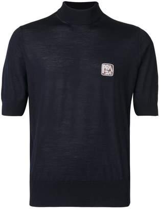 Prada turtleneck short sleeve sweater