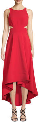 Aidan Mattox High-Low Gown