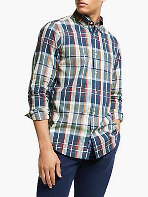 Gant Tech Prep Check Shirt, Blue/Multi