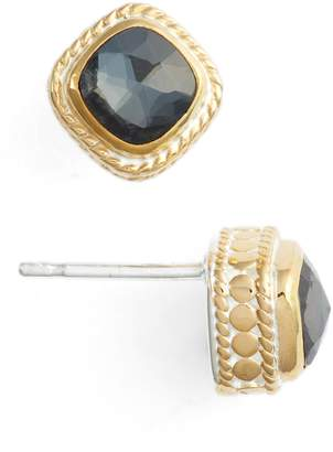 Anna Beck Cushion Stone Stud Earrings