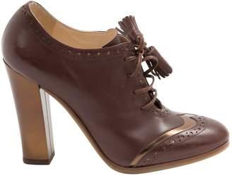 L'Autre Chose Leather ankle boots