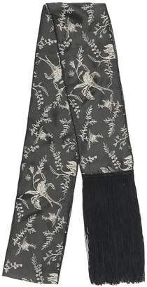 Forte Forte fringed floral scarf