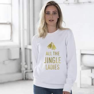 84972c8e39f Oli & Zo All The Jingle Ladies Christmas Jumper