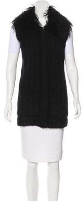Milly Knit Zip-Up Vest