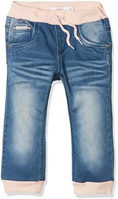 Name It Baby Girls' Nmfbibi Dnmtalin 2003 Pant Noos Jeans (Medium Blue Denim), 92