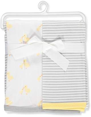 Hudson Baby 2-Pack Swaddle Blankets