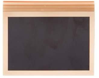 Valentino Bicolor Box Clutch