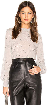 Bella Dahl Elastic Shirred Blouse