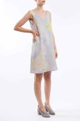 Clara Kaesdorf V-Neck Dress Grey