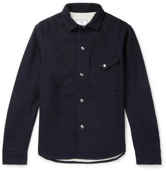 Ami Wool-Blend Overshirt