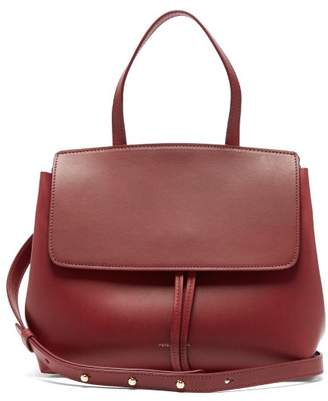 Mansur Gavriel Mini Lady Leather Cross Body Bag - Womens - Burgundy