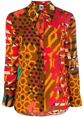 M Missoni printed loose blouse