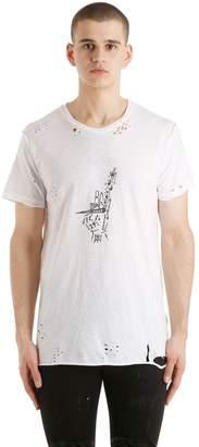 Oleum Smoke Printed T-Shirt
