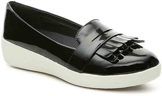 FitFlop Fringey Wedge Loafer - Women's