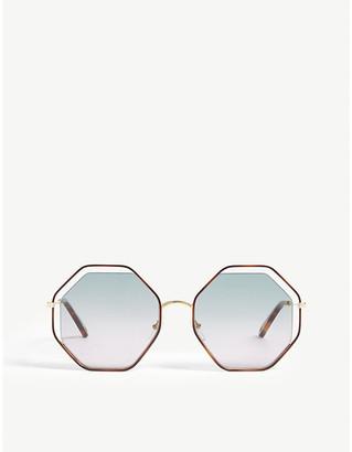 Chloé CE132S poppy irregular sunglasses