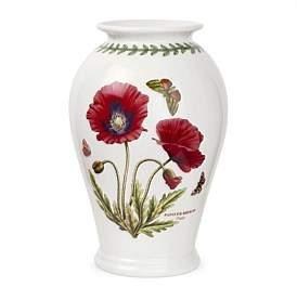 Portmeirion Bg Canton Vase Poppy 25Cm
