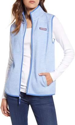 Vineyard Vines Fleece Sweater Vest