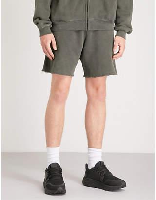 Yeezy Season 6 cotton-jersey shorts
