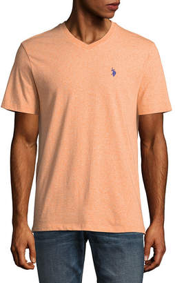 U.S. Polo Assn. USPA Embroidered Short Sleeve Jersey Polo Shirt