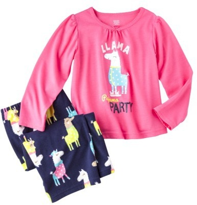 Carter's JUST ONE YOU® Made by Infant Toddler Girls' 2-Piece Long-Sleeve Pajama Set