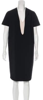 Cédric Charlier Knee-Length Shift Dress