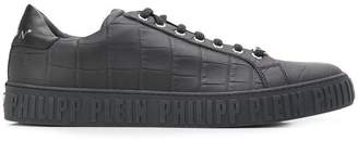 Philipp Plein croco-embossed sneakers
