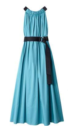 Tibi Long Trapeze Dress