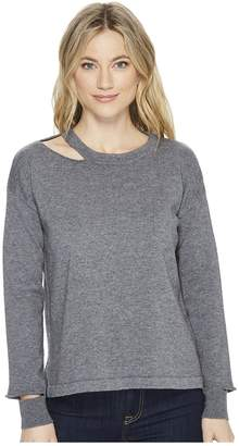 LnA Perry Cut Out Sweater Women's Sweater