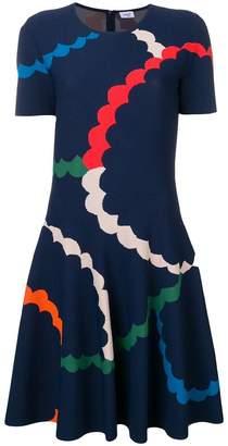 Akris Punto printed skater dress