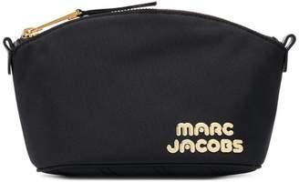 Marc Jacobs logo plaque make up bag