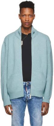 DSQUARED2 Blue Alpaca Sweater