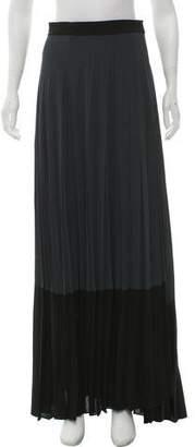 A.L.C. Pleated Maxi Skirt