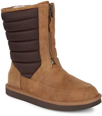 UGG Zaire Quilted Dyed Shearling Boots