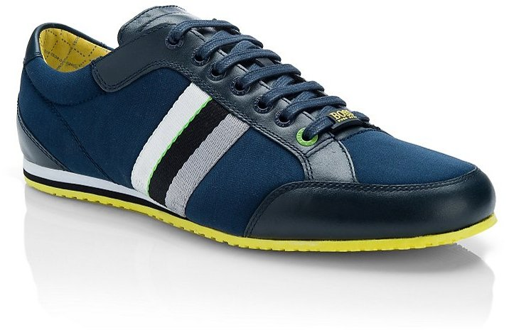 HUGO BOSS 'Victoire Neo' | Leather Lace-Up Sneaker by BOSS Green